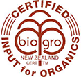 rorisons  are certified with bio-grow